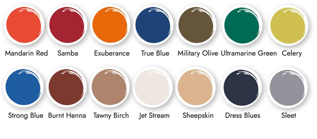 Colour Analysis - Full Colour Palette for the season