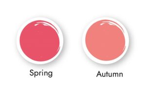Pinks for warm skin tones