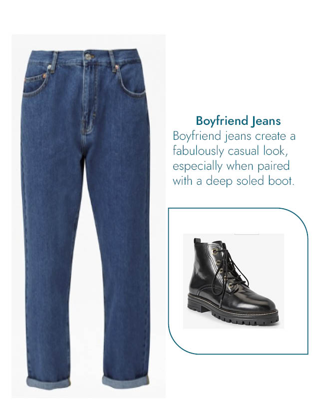 Boyfriend Jeans & DM Blog