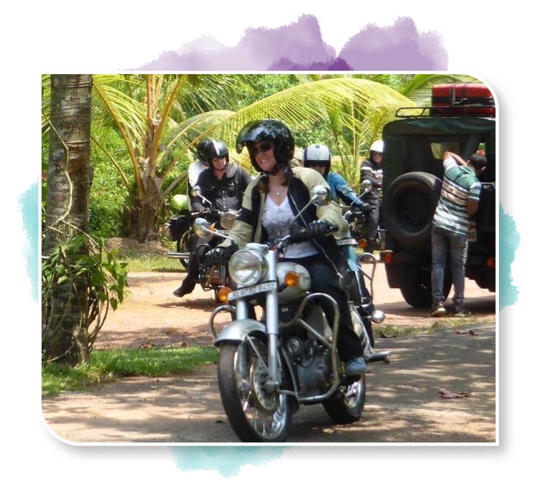Hels biking in India