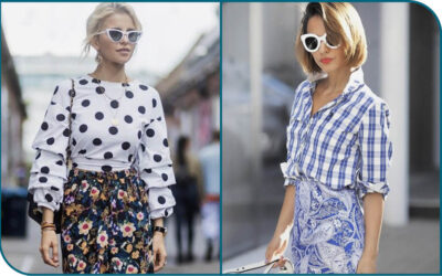 Create your individual style by adding pattern & print to your outfit